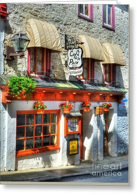 Colors Of Quebec 19 Greeting Card by Mel Steinhauer