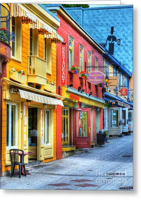 Colors Of Quebec 20 Greeting Card