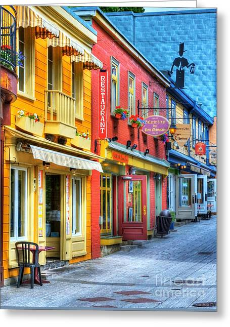 Colors Of Quebec 20 Greeting Card by Mel Steinhauer