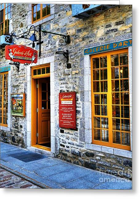 Colors Of Quebec 9 Greeting Card by Mel Steinhauer