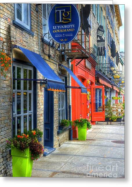 Colors Of Quebec Greeting Card