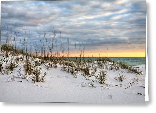 Colors Of The Emerald Coast Greeting Card by JC Findley