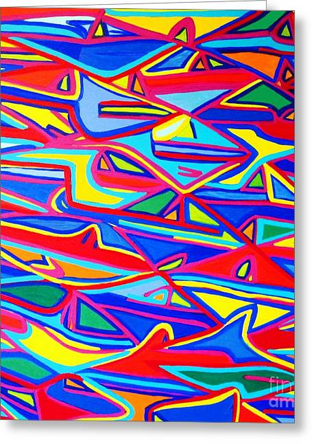 Colors Of The Fish Greeting Card