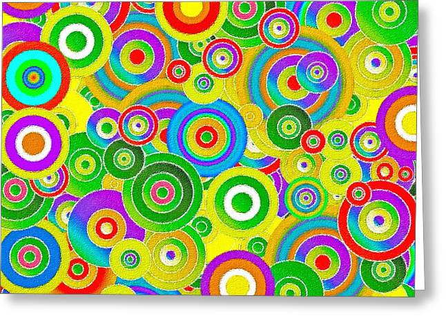 Colors Greeting Card by Stefano Senise