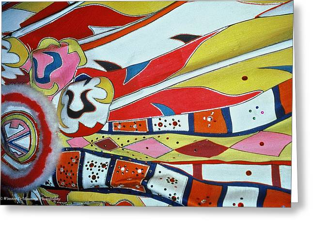 Colors Of Junkanoo Greeting Card