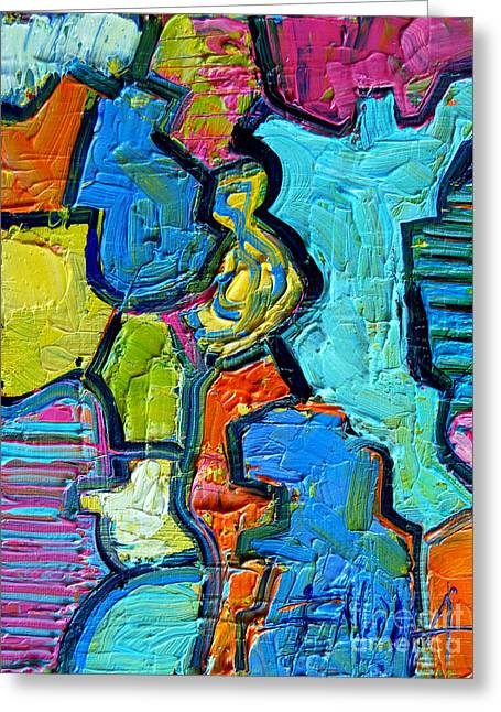 Colorscape #07 - Puzzled Greeting Card
