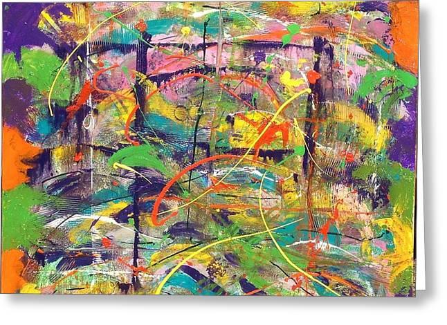 Colour Bazaar Greeting Card by Judi Goodwin