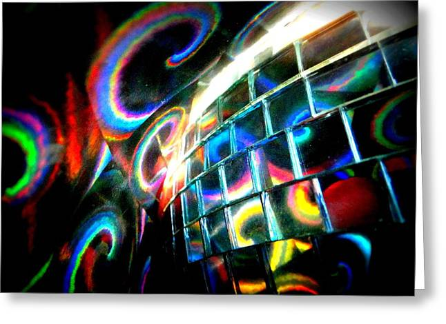 Colourful Reflections Greeting Card