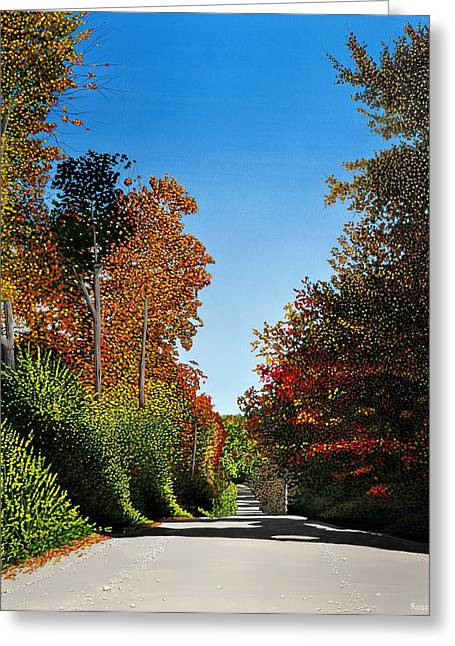 Colours Of Caledon Greeting Card