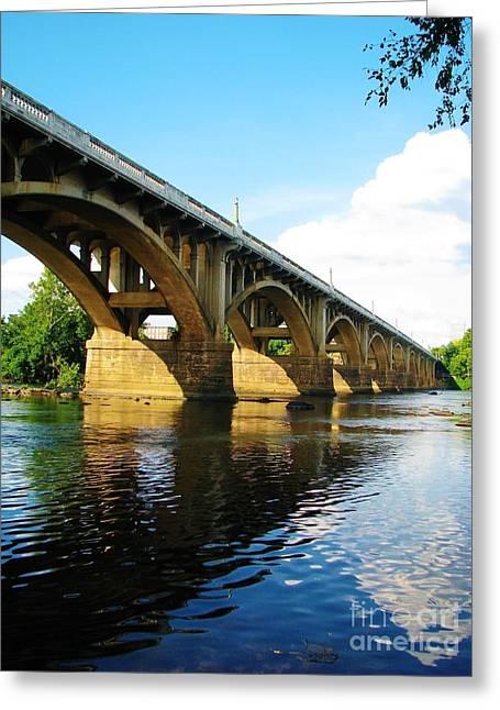Columbia Bridge Greeting Card
