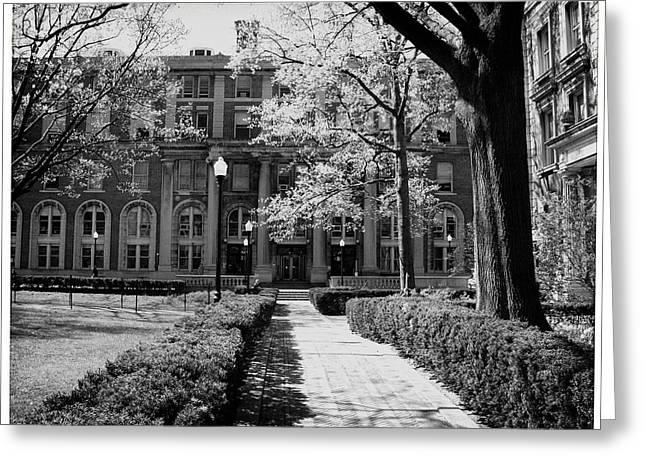 Columbia College Walk Greeting Card