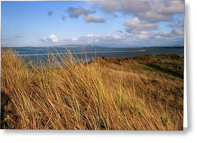 Columbia River From Clatsop Spit, Fort Greeting Card