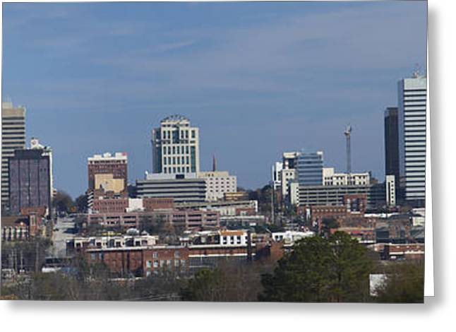 columbia SC pano Greeting Card