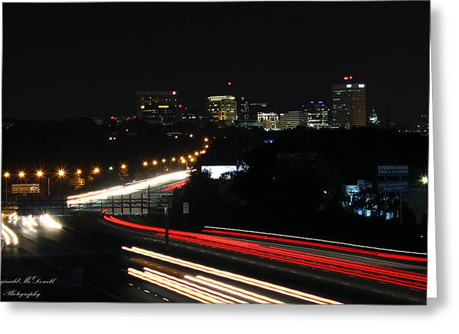 Columbia South Carolina Greeting Card by Reginald McDowell