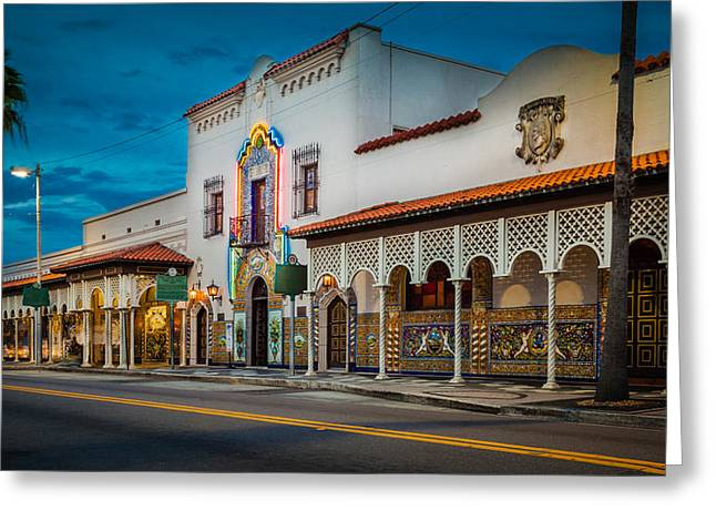 Columbia Greeting Card by Ybor Photography