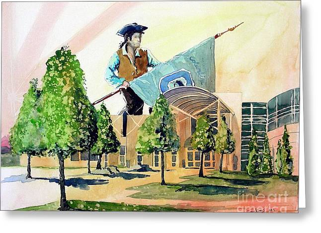 Columbine 40 Years Greeting Card by Tom Riggs