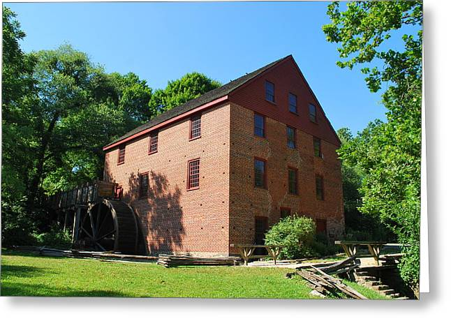 Greeting Card featuring the photograph Colvin Run Grist Mill by Bob Sample
