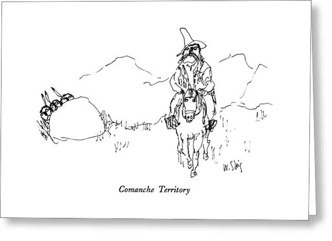 Comanche Territory Greeting Card