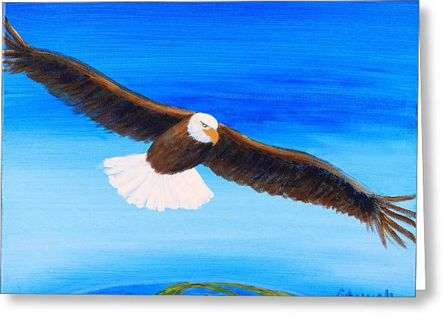 Come Fly With Me Greeting Card by Gary Rowell