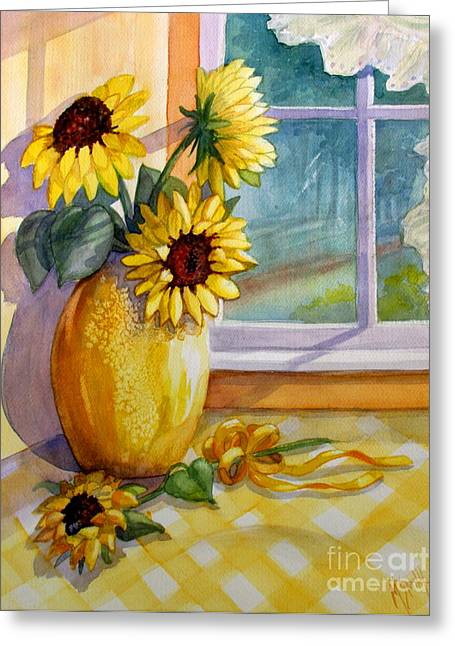 Come Home Greeting Card by Marilyn Smith