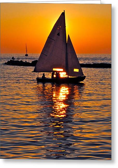 Come Sail Away With Me Greeting Card by Frozen in Time Fine Art Photography