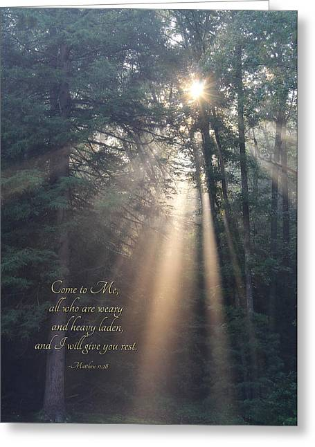 Come To Me Greeting Card by Lori Deiter
