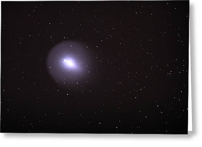 Greeting Card featuring the photograph Comet 17p - Holmes by Chuck Caramella