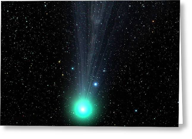 Comet C2014 Q2 Greeting Card by Damian Peach