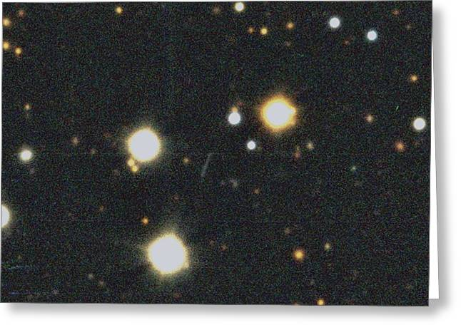 Comet Churyumov-gerasimenko Greeting Card by European Southern Observatory
