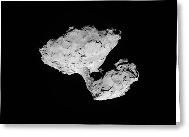 Comet Churyumov-gerasimenko Greeting Card