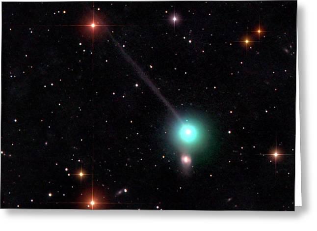 Comet Encke Greeting Card
