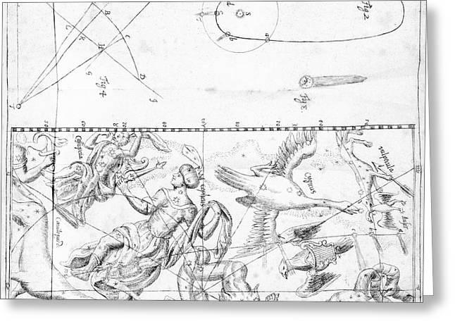 Comet Of 1742 Greeting Card