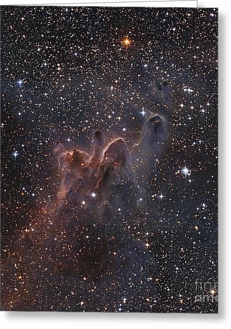Cometary Globules Cg 303138 Greeting Card