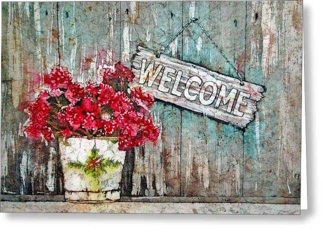 A Warm Welcome Greeting Card