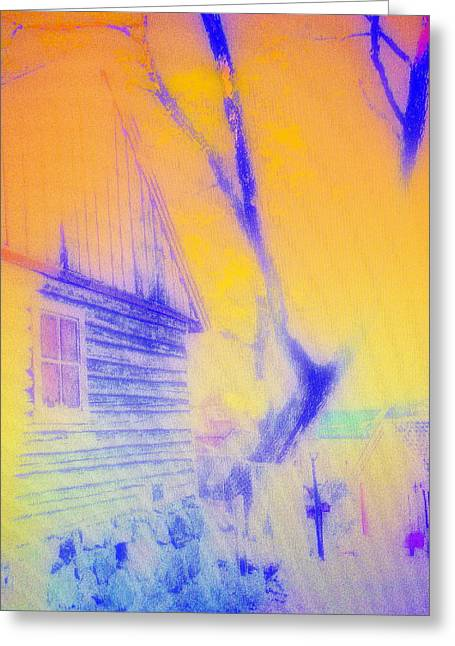 Will You Be Coming Home Some Day  Greeting Card