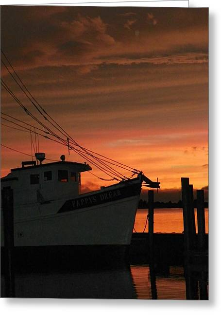 Coming Home... Greeting Card by Karen Wiles