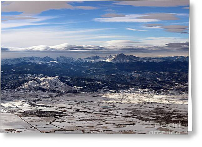 Coming Home To Colorado Springs Greeting Card