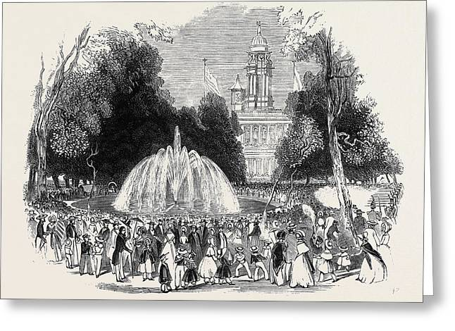 Commemoration Of Independence At New York Greeting Card