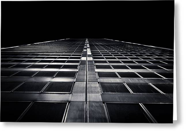 Greeting Card featuring the photograph Commerce Court West 1 by Brian Carson