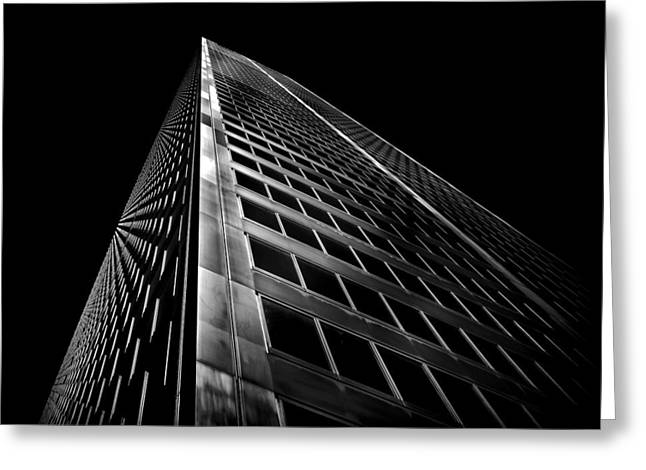 Greeting Card featuring the photograph Commerce Court West 2 by Brian Carson