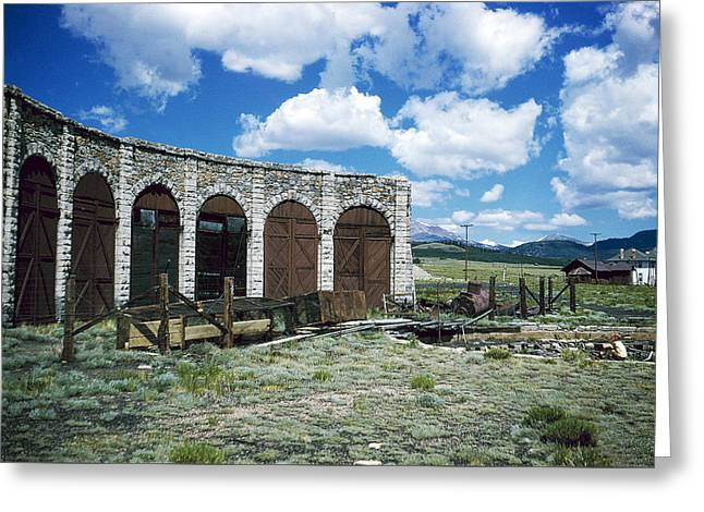 Como Roundhouse Co Greeting Card by Jan W Faul