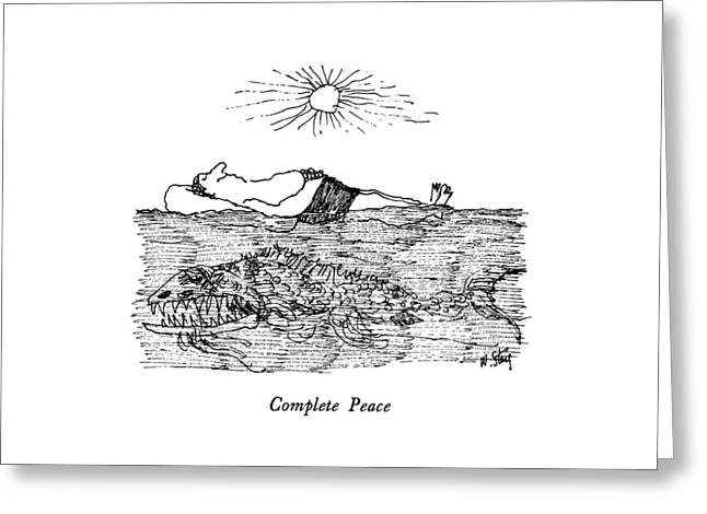 Complete Peace Greeting Card