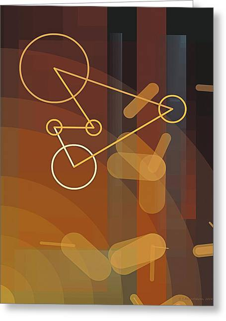 Composition 50 Greeting Card