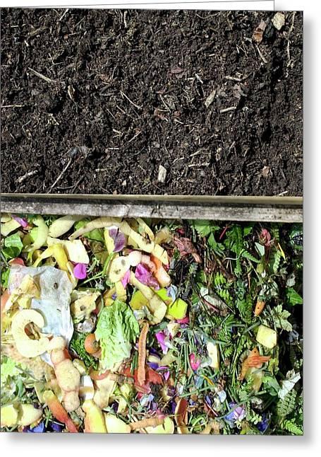 Compost Heap Greeting Card