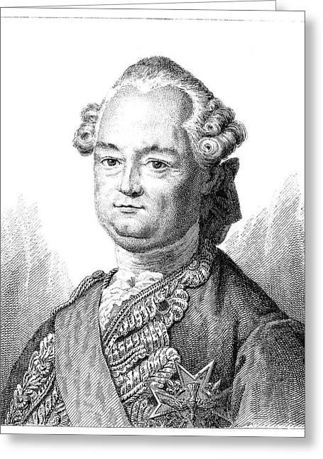 Comte De Clermont (1709-1770) Greeting Card