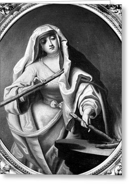 Comtesse Du Barry (c1746-1793) Greeting Card by Granger