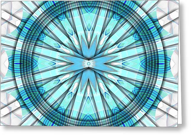 Concentric Eccentric 3 Greeting Card by Brian Johnson