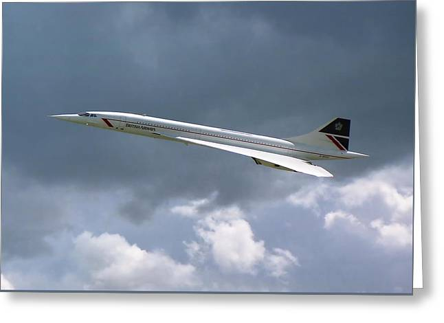 Concorde 01 Greeting Card