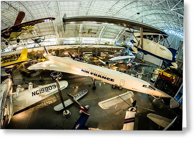 Concorde Greeting Card by Randy Scherkenbach