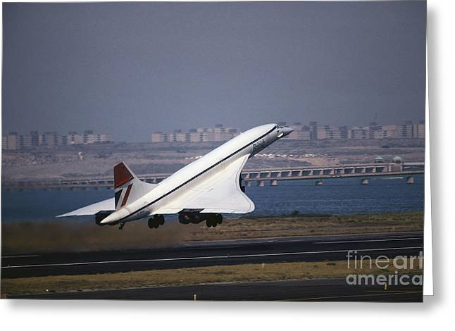 Concorde Greeting Card by Tim Holt